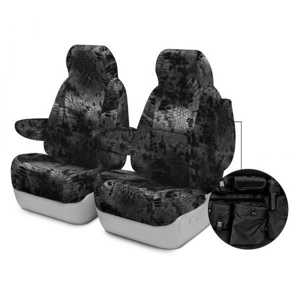 Coverking® - Kryptek™ 1st Row Tactical Camo Typhon Custom Seat Covers