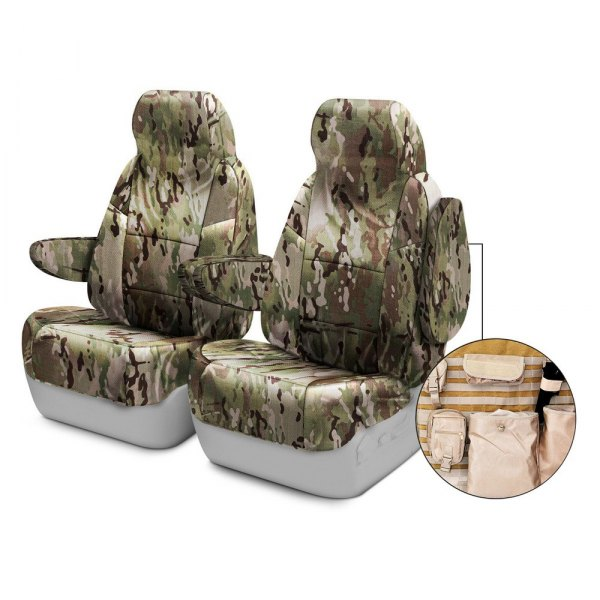 Coverking® - Multicam™ 1st Row Tactical Camo Classic Custom Seat Covers