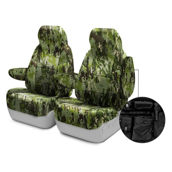 Coverking® - Multicam™ 1st Row Tactical Camo Tropic Custom Seat Covers