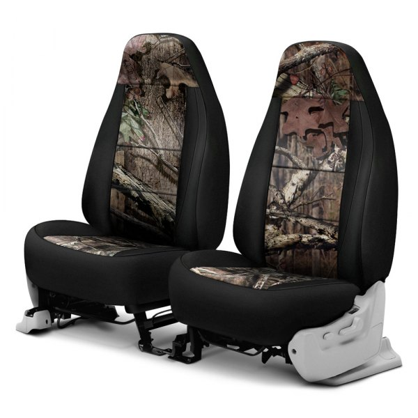 Coverking® - Mossy Oak™ 1st Row Two-Tone Break Up Infinity Custom Seat Covers