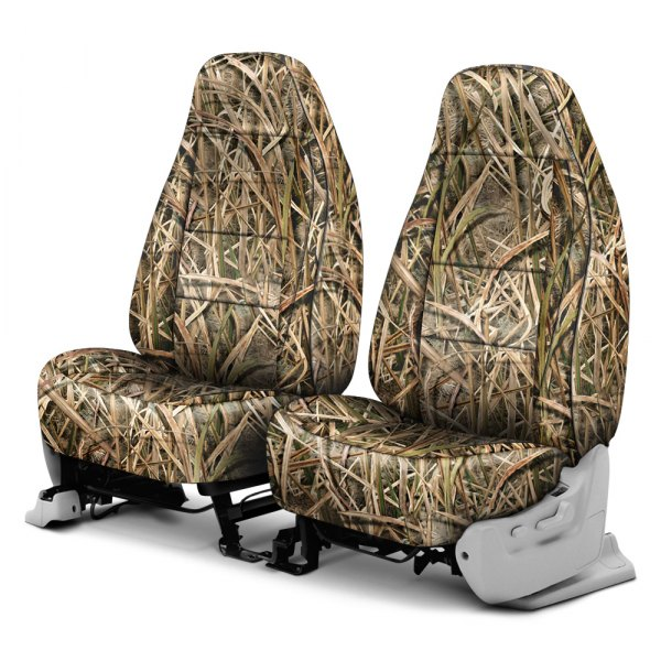 Coverking® - Mossy Oak™ 1st Row Shadow Grass Blades Custom Seat Covers