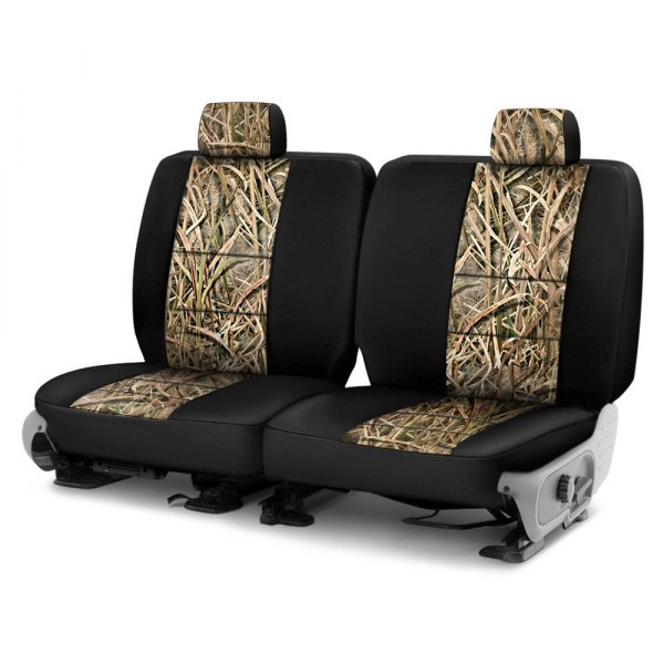 Coverking® - Mossy Oak™ 3rd Row Two-Tone Shadow Grass Blades Custom Seat Covers