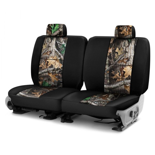Coverking® - Realtree™ 2nd Row Two-Tone Advantage Timber Custom Seat Covers