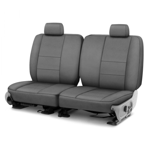 Coverking® - Suede 2nd Row Charcoal Custom Seat Cover
