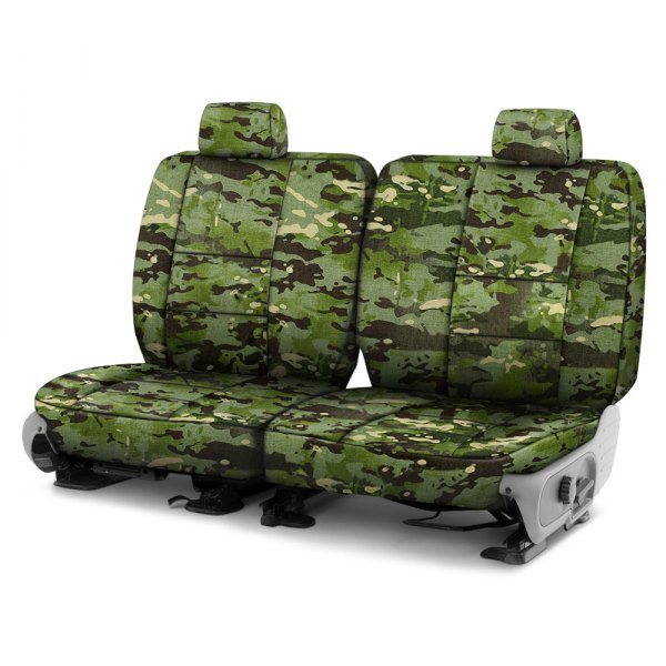 Coverking® - Multicam™ 2nd Row Tropic Custom Seat Covers