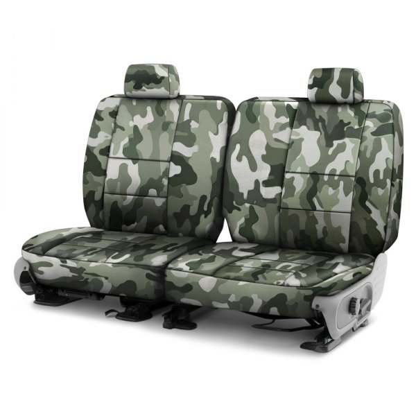 Coverking® - Traditional 3rd Row Jungle Custom Seat Covers