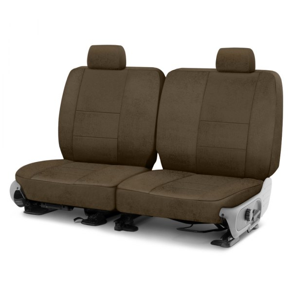 Coverking® - Velour 3rd Row Taupe Custom Seat Cover
