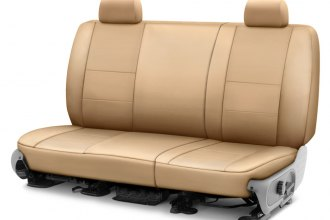 Image may not reflect your exact vehicle! Coverking® - Cordura Ballistic 2nd Row Cashmere Custom Seat Cover