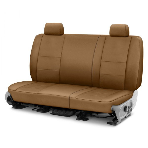 Coverking® - Polycotton Drill 2nd Row Tan Custom Seat Cover