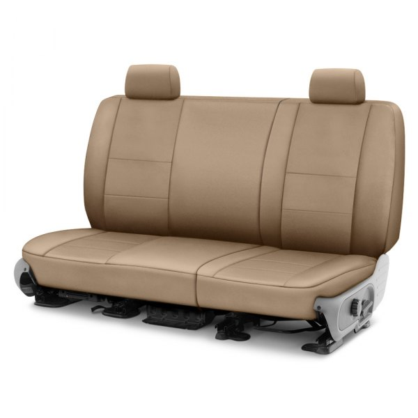 Coverking® - Polycotton Drill 2nd Row Cashmere Custom Seat Cover