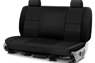 Coverking® - Neosupreme 2nd Row Black Custom Seat Cover