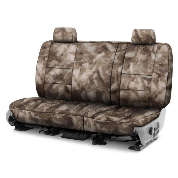 Coverking® - A-TACS™ 2nd Row Camo Cordura Ballistic Arid Urban Custom Seat Covers