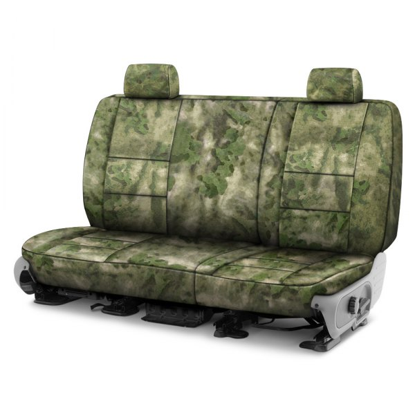 Coverking® - A-TACS™ 2nd Row Camo Cordura Ballistic Foliage Green Custom Seat Covers