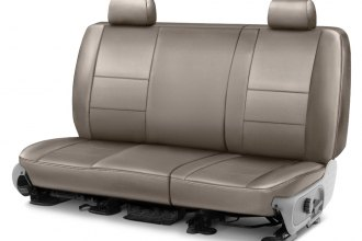 Coverking® - Leatherette 2nd Row Taupe Custom Seat Cover