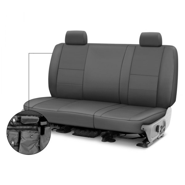 Coverking® - Cordura Ballistic 2nd Row Charcoal Custom Seat Covers