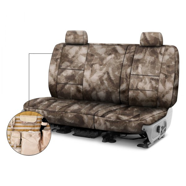 Coverking® - A-TACS™ 2nd Row Tactical Camo Arid Urban Custom Seat Covers
