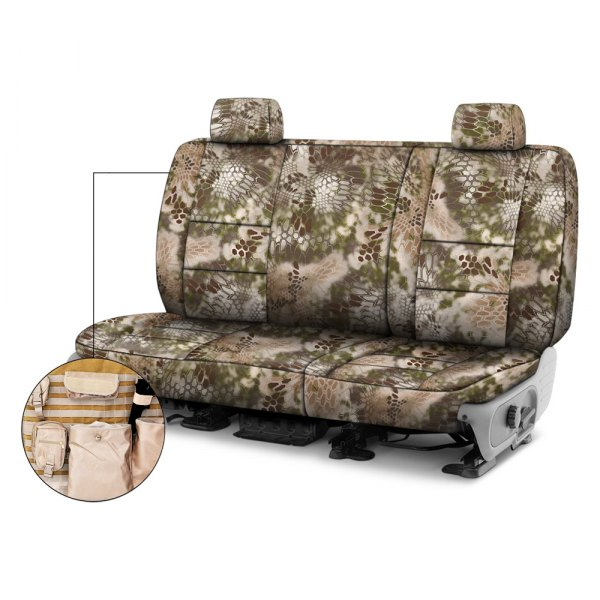Coverking® - Kryptek™ 2nd Row Tactical Camo Highlander Custom Seat Covers