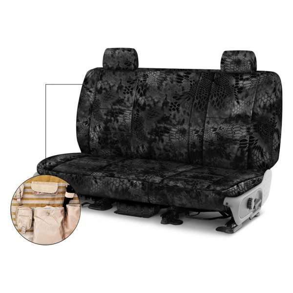 Coverking® - Kryptek™ 2nd Row Tactical Camo Typhon Custom Seat Covers