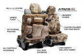 Coverking® - A-TACS™ Tactical Camo Custom Seat Covers Features