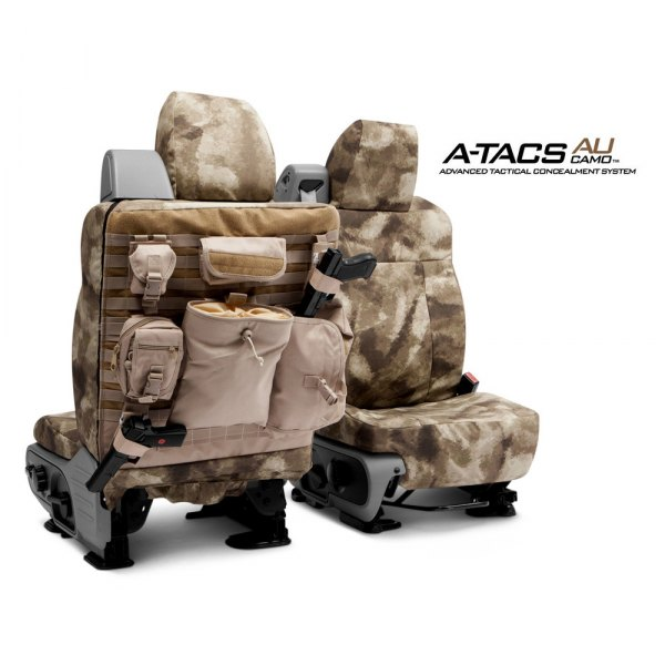 Coverking® - A-TACS Tactical Camo Custom Seat Covers