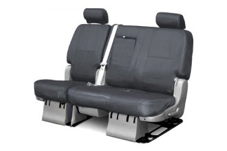Coverking® CSC1E4CH9410 - 2nd Row Ballistic Custom Charcoal Seat Covers