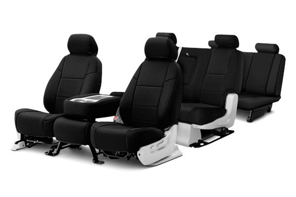 Coverking® - Ballistic Custom Black Seat Covers