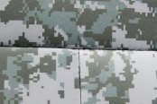 Coverking® - 1st Row Digital Camouflage Custom Jungle Seat Covers with Black Sides