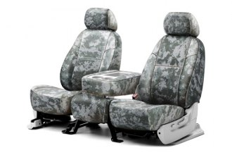 Coverking® CSCPD08FD9640 - 1st Row Digital Camouflage Custom Jungle Seat Covers