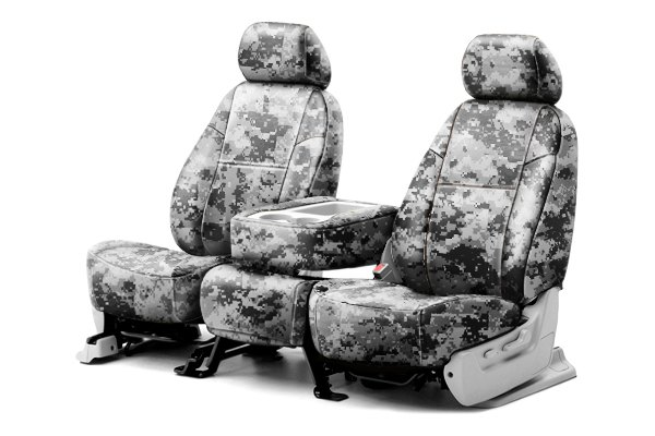 Coverking® - 1st Row Digital Camouflage Custom Urban Seat Covers