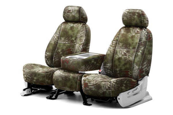 Coverking® - 1st Row Kryptek™ Camouflage Custom Mandrake Seat Covers