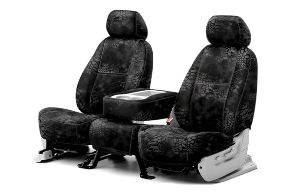Coverking® - 1st Row Kryptek™ Camouflage Custom Typhon Seat Covers