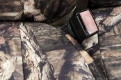 Coverking® - 1st Row Mossy Oak® Camouflage Custom Break Up Infinity Seat Covers