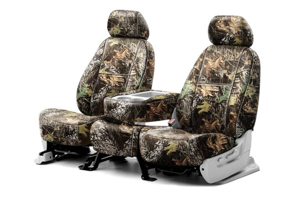 Coverking® - 1st Row Mossy Oak® Camouflage Custom Break Up Seat Covers