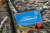 Coverking® - 1st Row Mossy Oak® Camouflage Custom Obsession Seat Covers
