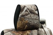 Coverking® - 2nd Row RealTree™ Camouflage Custom Hardwoods Seat Covers with Black Sides