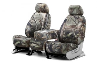 Coverking® CSCRT03FD7048 - 1st Row RealTree™ Camouflage Custom AP Seat Covers