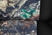 Coverking® - 1st Row RealTree™ Camouflage Custom Advantage Timber Seat Covers with Black Sides