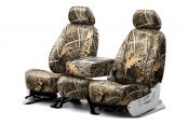 Coverking® - 1st Row RealTree™ Camouflage Custom Max-4 Seat Covers