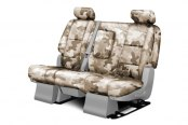 Coverking® - 2nd Row Traditional Camouflage Custom Sand Seat Covers