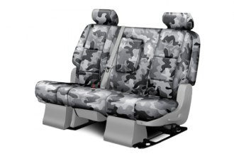 Coverking® CSCPD12CH9482 - 2nd Row Traditional Camouflage Custom Urban Seat Covers