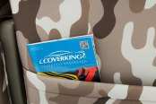 Coverking® - 1st Row Traditional Camouflage Custom Sand Seat Covers