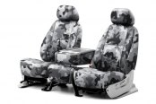 Coverking® - 1st Row Traditional Camouflage Custom Urban Seat Covers