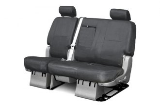 Coverking� - 2nd Row Ballistic Custom Charcoal Seat Covers