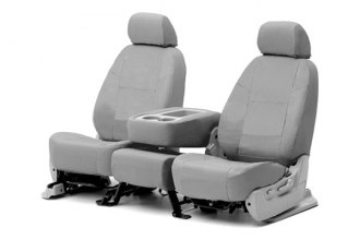 Coverking� - Ballistic Custom Gray Seat Covers