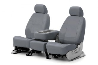 Coverking® - Poly Cotton Custom Gray Seat Covers