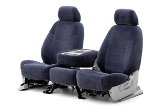 Coverking� - 1st Row Velour Custom Dark Blue Seat Covers