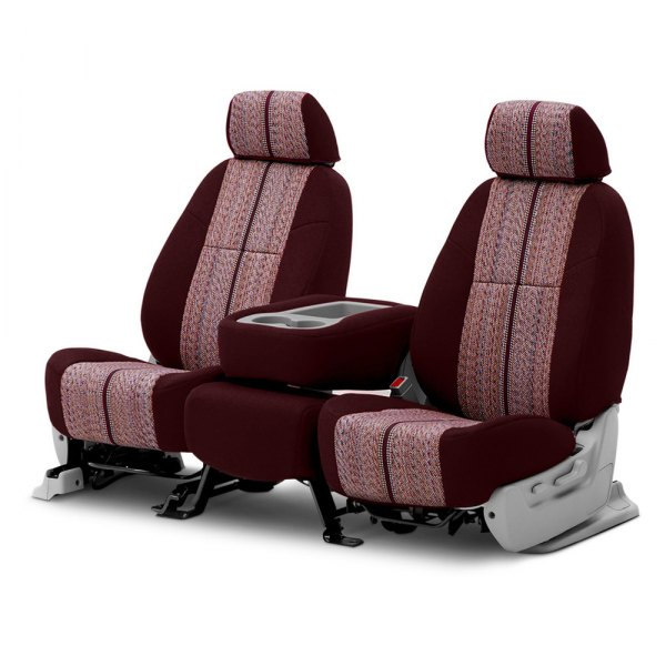 Coverking® - Saddleblanket 2nd Row Wine Custom Seat Covers