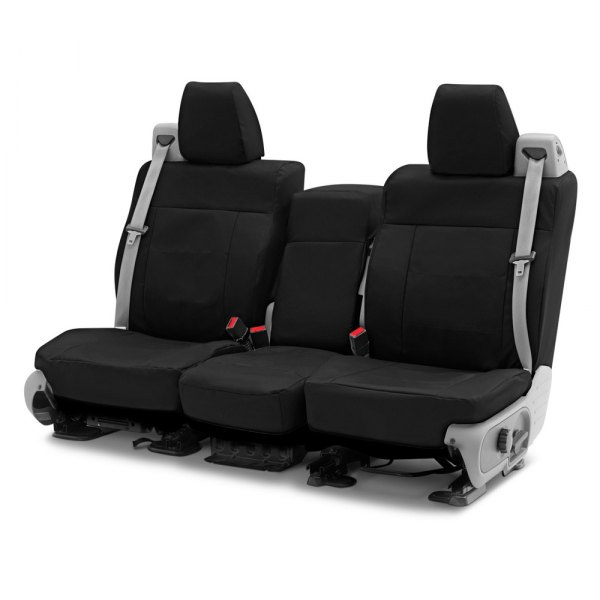Coverking® - Cordura Ballistic 2nd Row Black Custom Seat Covers