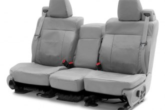 Coverking® - Cordura Ballistic 2nd Row Light Gray Custom Seat Covers