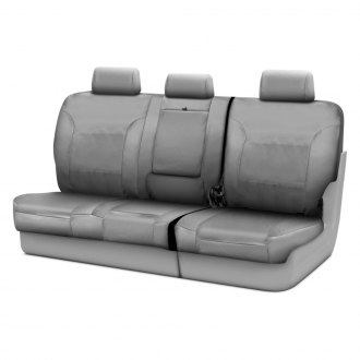 Coverking® - Cordura Ballistic 3rd Row Light Gray Custom Seat Covers